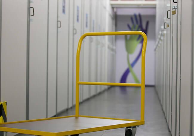 Self Storage Center in Reutlingen ist videoüberwacht und alarmgesicht