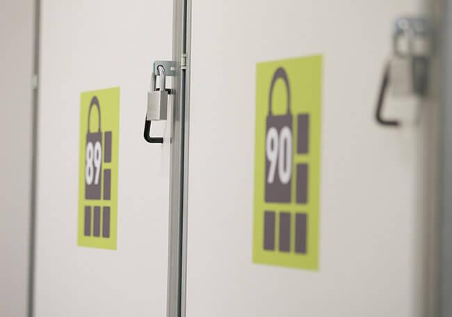 Wir garantieren im Self Storage Center kurze Wege zu Ihrer Lagerbox