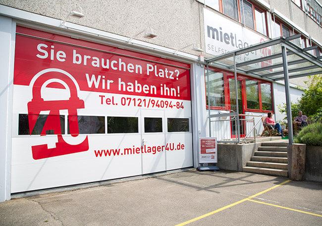 Aktenaufbewahrung bzw. Akten archivieren im Self Storage Center Reutlingen